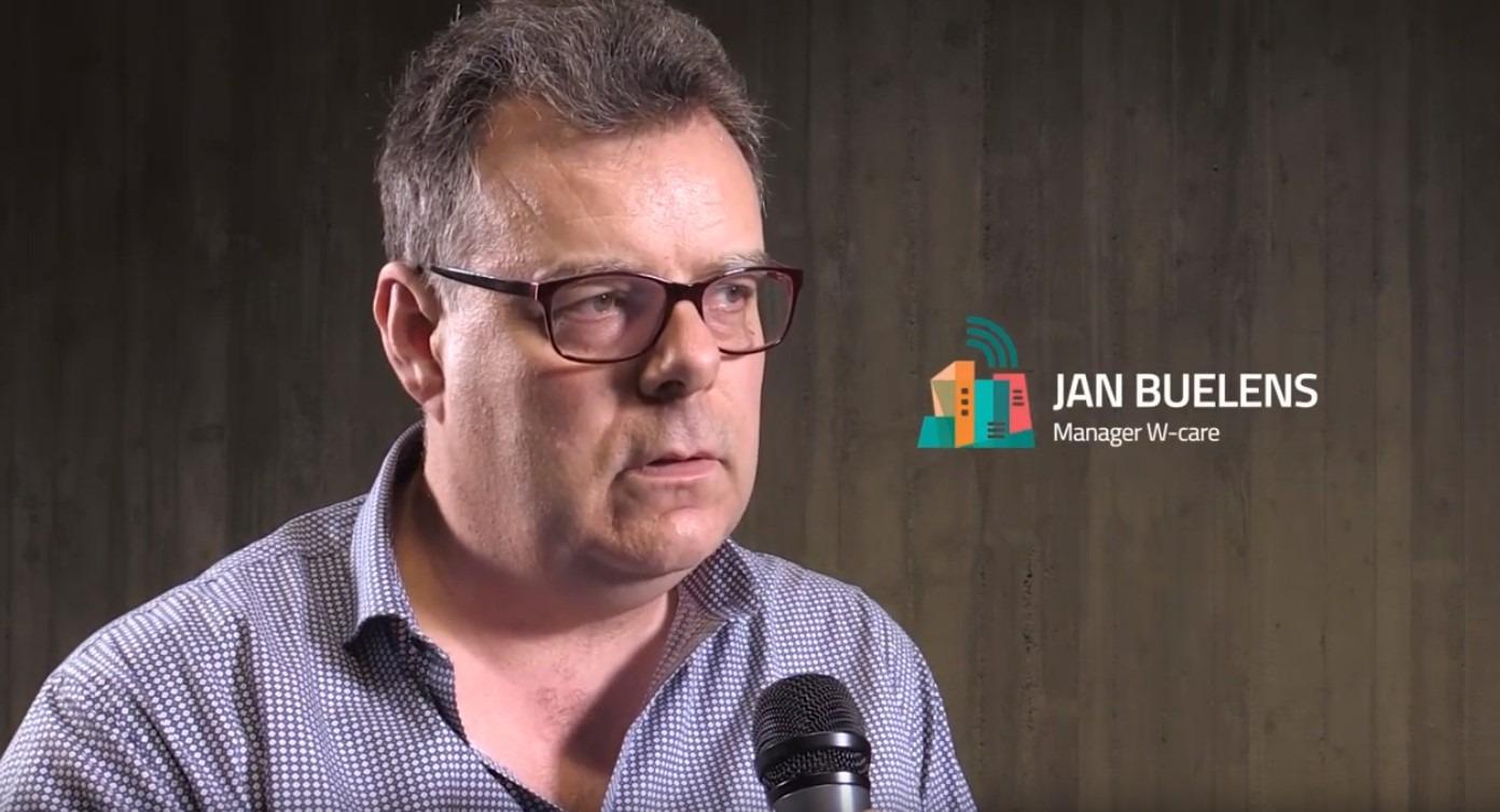 voorzitter Jan Buelens