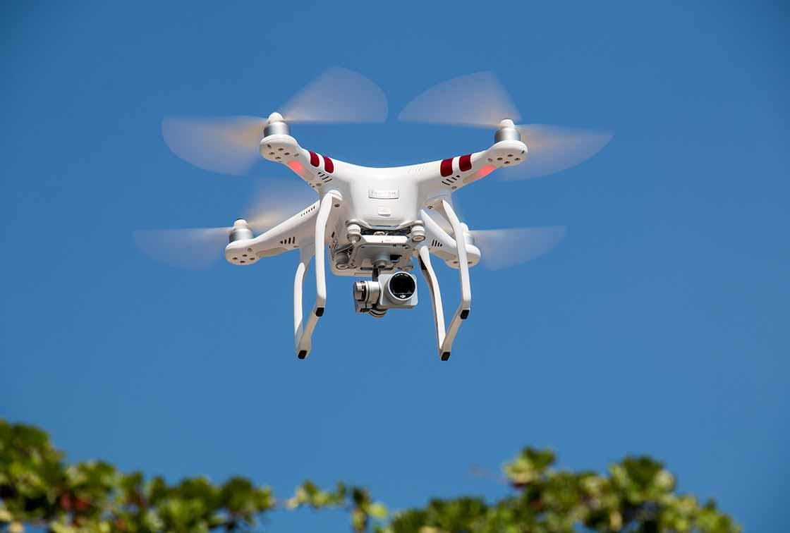 Inspecteren van gebouwen met drones
